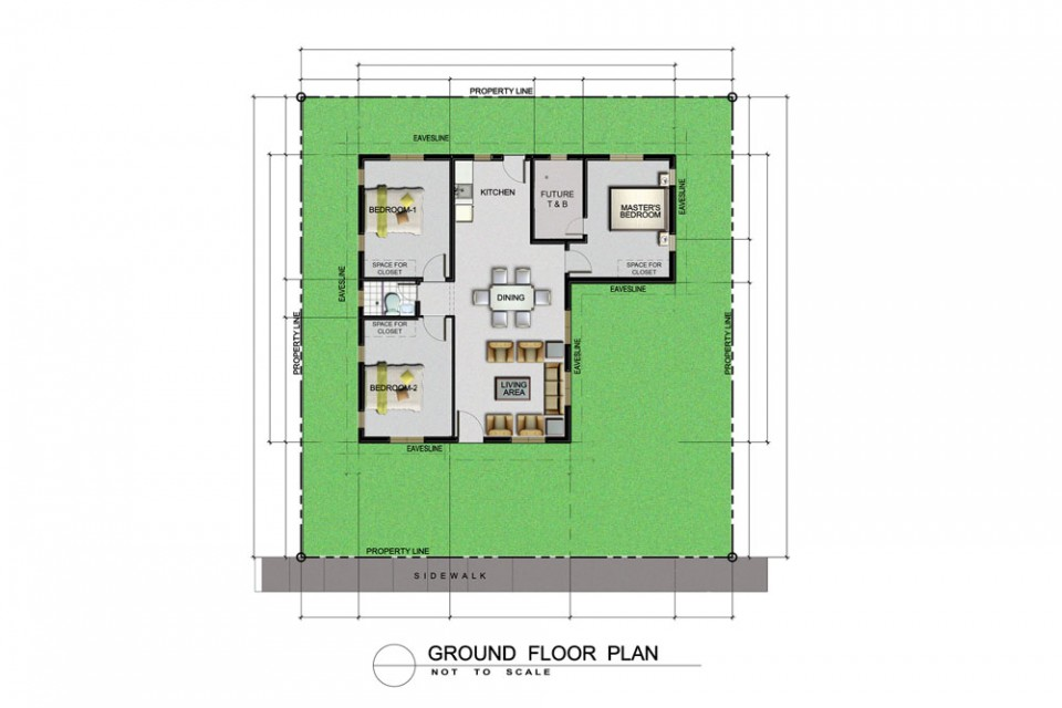Pelham Basic Floor Plan 1k