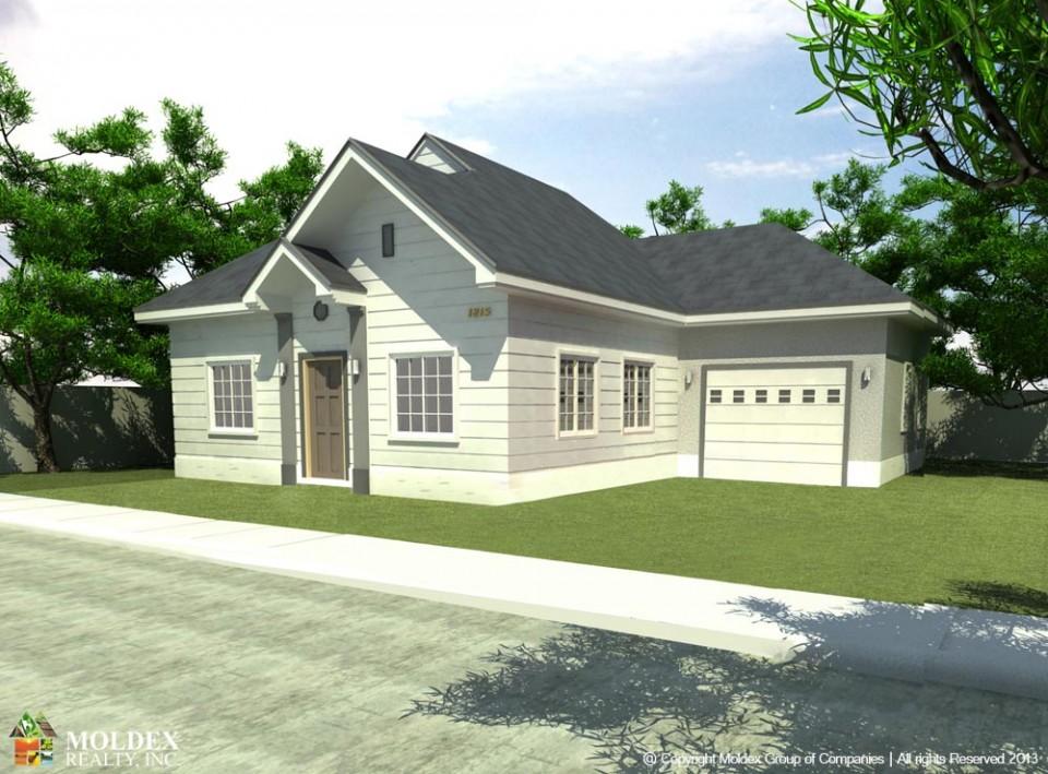 Pelham Basic House Model Perspective 1k