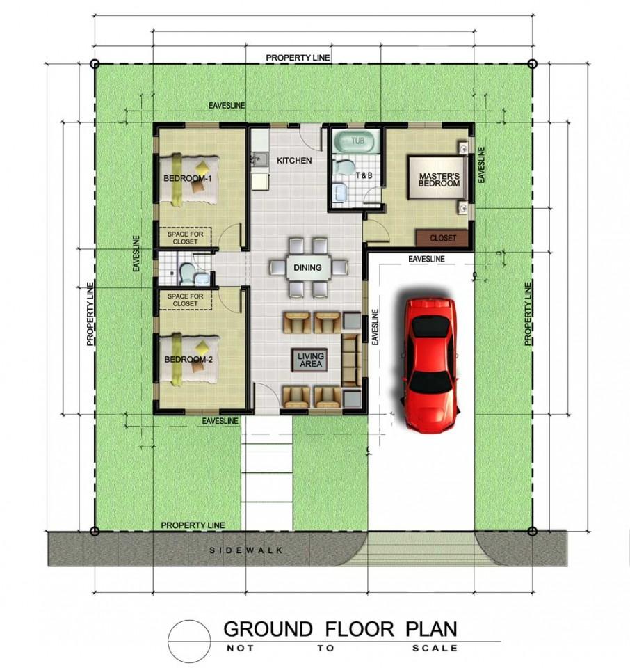 Pelham Premium Floor Plan 1k